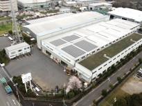 松井ガラスビルディング発電所の施工事例・実績写真